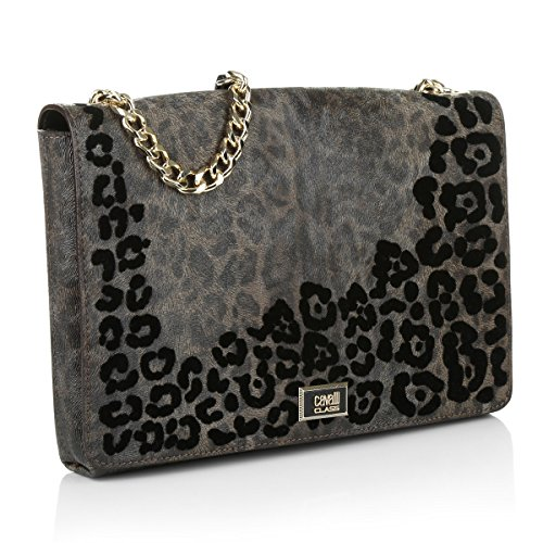ROBERTO CAVALLI CLASS LEOPARD ADDICTION CHC.001 shoulder bag