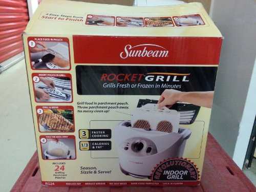 Sunbeam Rocket Grill - Indoor Grilling Machine (Indoor Grill Oster compare prices)