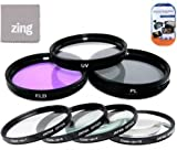 Big Mike'S 67Mm Multi-Coated 7 Piece Filter Set Includes 3 Pc Filter Kit (Uv-Cpl-Fld-) And 4 Pc Close Up Filter Set (+1+2+4+10) For Nikon 16-85Mm F/3.5-5.6G Af-S Dx Ed Vr Nikkor Wide-Angle Telephoto Zoom Lens + Cap Keeper + Microfiber Cleaning Cloth + Lc
