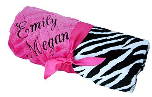 Zebra Hot Pink Bedding front-182036