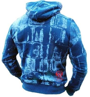 Yakuza Ink Kapuzensweatshirt - HOB 325 mallard blue
