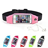 "Advent Basicsâ""¢ Waterproof Multifunctional Sports Elastic Waist Belt Band Bag with extra pocket to Hold mobilephone 