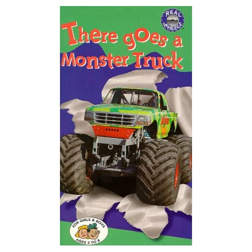 Amazon.com: There Goes a Monster Truck [VHS]: Real Wheels
