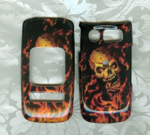 F SKULL Pantech Breeze II 2 P2000 AT&T PHONE COVER CASE (Pantech Breeze P2000 compare prices)