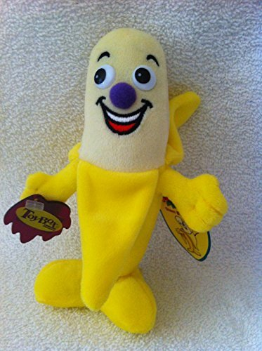 "TOY BOX FRUIT SEEDIES ""SLAM BANANA"" PLUSH STUFFED - 1"