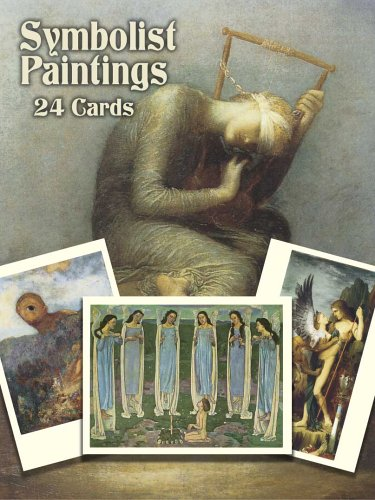 Symbolist Paintings: 24 Cards (Dover Postcards)