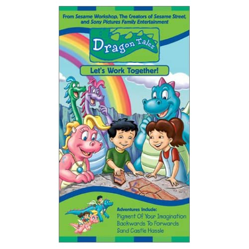 Dragon tales vhs