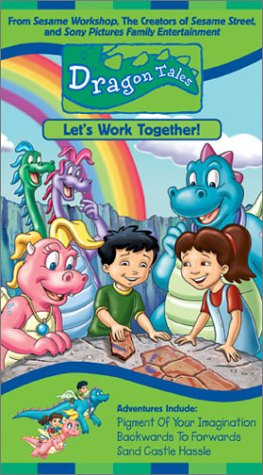 Dragon Tales - Let's Work Together [VHS]