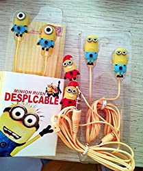 Techwich Despicable Me Minions Rush Style 3.5mm Plug in-Ear Earphone (with Clip Mic)