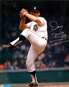 Denny Mclain autographed 8x10 Photo (Detroit Tigers 1968 World Champion) by Autograph Warehouse