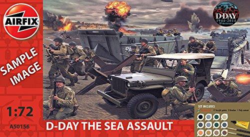 Airfix A50156 - Modellbausatz D-Day Sea Assault Gift Set