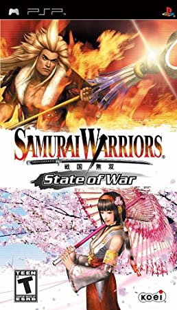 Samurai Warriors State of War - Sony PSP