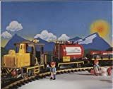 Playmobil 4024 - Train de marchandises de 1995