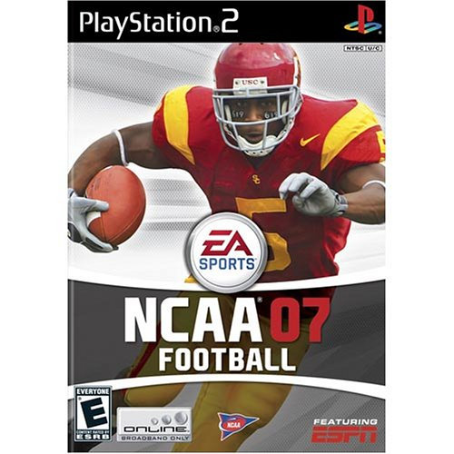 NCAA Football 07 - PlayStation 2 (Ncaa Football Ps2 compare prices)