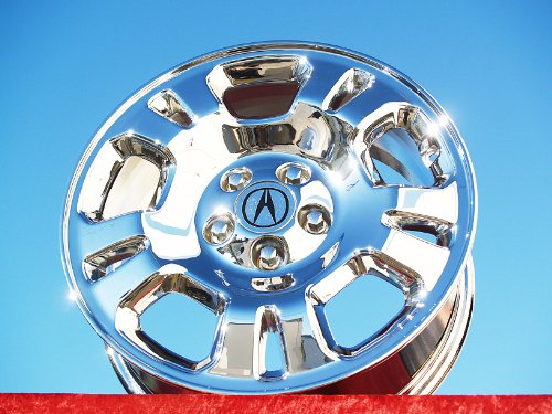 Acura MDX: Set of 4 genuine factory 17inch chrome