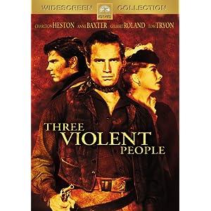 Terre sans pardon - Three Violent People - 1957 - Rudolph Maté 51TWWF11X5L._SL500_AA300_