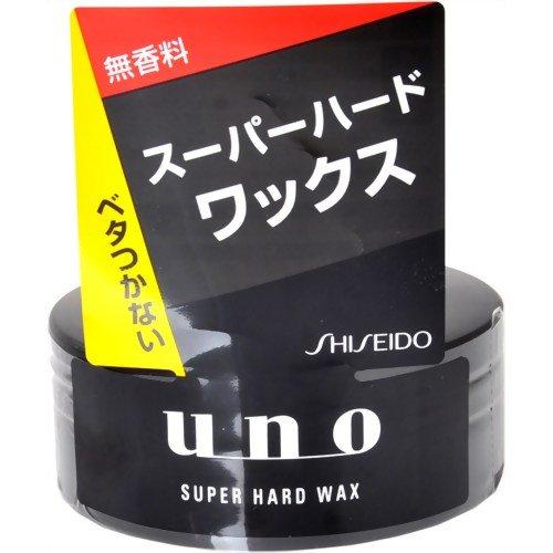 Shiseido: UNO Fibre Neo Hair Wax (80g) Super Hard - Black