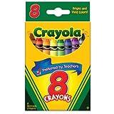 Crayola Crayons, 8 count (52-3008)