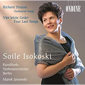 Strauss, R.: 4 Last Songs / Orchestral Songs