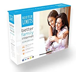 Router Limits 802.11 n Wireless Cloud-Based Parental Control Router  N600 Dual Band Gigabit Router (RL-150)