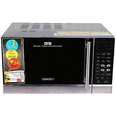 IFB 25DGSC1 25-Litre 1400-Watt Convection Microwave Oven (Black)
