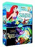 echange, troc La Petite sirène / Alice au pays des Merveilles - Bipack 2 DVD