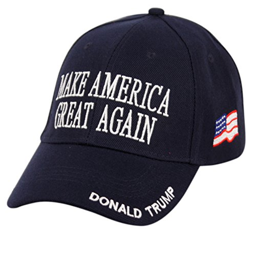 8744370b07d Donald Trump Make America Great Again Hats Embroidered (Navy)