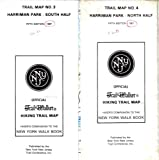 img - for Harriman Park North South Trail Maps No. 3 and 4 book / textbook / text book