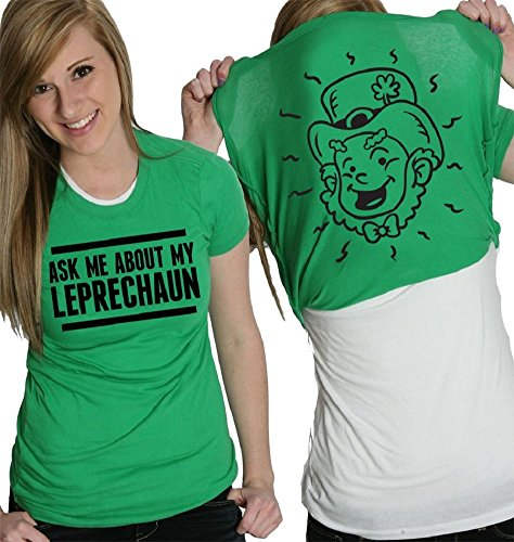 Womens St Patricks Day Long Sleeve Shirts