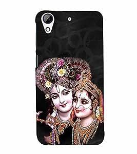 Radha Krishna 3D Hard Polycarbonate Designer Back Case Cover for HTC Desire 626 :: HTC Desire 626 Dual SIM :: HTC Desire 626S :: HTC Desire 626 USA :: HTC Desire 626G+ :: HTC Desire 626G Plus