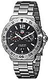 TAG Heuer Men's WAU111A.BA0858 Formula 1 Black Dial Grande Date Alarm Watch thumbnail