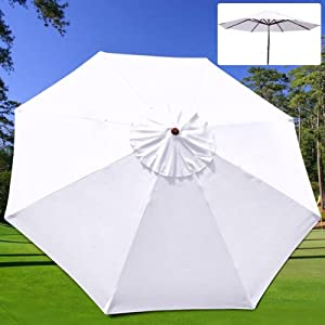 9 ft patio umbrella replacement sunshade