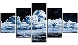 DZL Art S13339 Landscape Abstract Canvas Print Painting Modern Canvas Wall Art for Home Decoration,Framed 40\