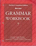 Writers Choice 7 Grammar Workbook - Teacher Edition (002635148X) by Glencoe.