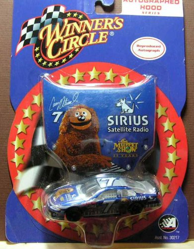 Winners Circle Hood Series #7 Sirius Satellite Radio Casey Atwood Die Cast Nascar