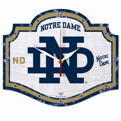 Ncaa College Vault Notre Dame Fighting Irish High Definition Clock