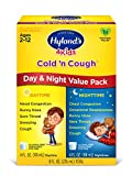 Hyland's 4 Kids Cold and Cough Day and Night Value Pack, Natural Common Cold Symptom Relief, 8 Fl Oz (Packaging May Vary)