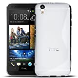 HTC Desire Eye Silikon Hülle Case in Transparent Cover