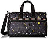 LeSportsac Peanuts X Medium Weekender Carry On Bag, Snoopy Daisy, One Size