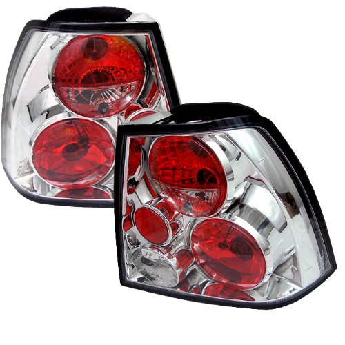 Spyder Auto Volkswagen Jetta Chrome Altezza Tail Light