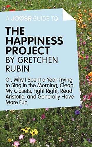 the happiness project by gretchen rubin Naturally, i turned to habits-sage gretchen rubin for help between her podcast, appropriately called happier , and her books, the happiness project and better than before , i've gotten plenty of ideas and inspiration for my habits, but what i didn't really consider beforehand is the link between happiness and habits.