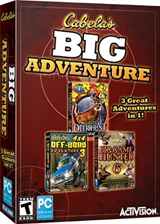 Cabelas Big Adventure 3-Pack
