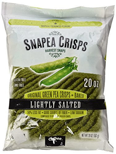 Harvest Snaps Snapea Original Green Pea Crisps, Baked and Lightly Salted, 20 Ounce (Salted Dried Peas compare prices)