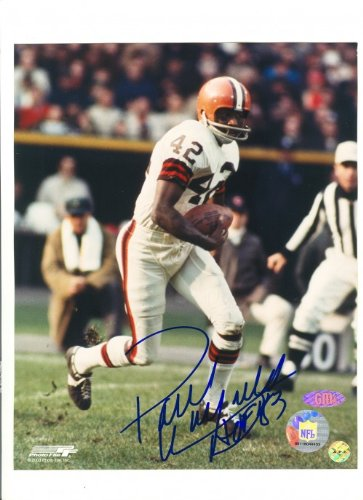 Paul Warfield Autographed/Hand Signed Cleveland Browns 8x10 Photo with HOF 83 Inscription at Amazon.com