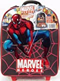 51TWoDu h4L. SL160  Marvel Comic Superheroes Rolling Case & 6 Action Figures