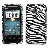 Zebra Stripes Protector Case for HTC EVO Shift 4G
