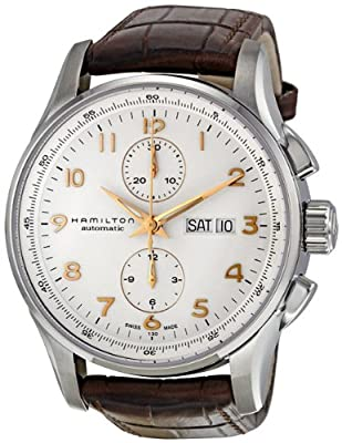 Hamilton Men's H32766513 Jazzmaster Analog Display Automatic Self Wind Brown Watch