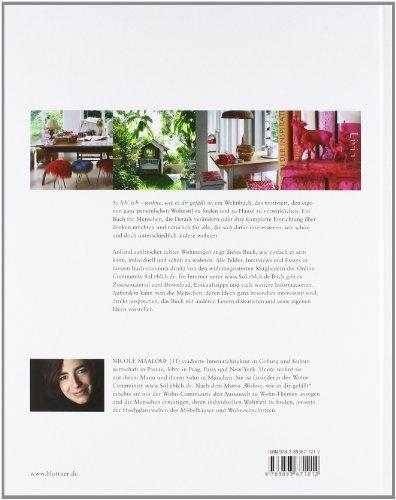 libro so leb ich wohne wie es dir gef llt di nicole maalouf. Black Bedroom Furniture Sets. Home Design Ideas