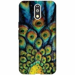 Printland Designer Back Cover for Motorola Moto G4 Plus - Creative Art Case Cover