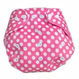 Hot Baby Infant Impreso pañal pañales de tela (lavable Pañal reutilizable Insertos Pinkpoint